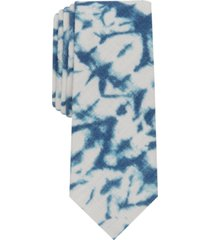 inc men's miller abstract slim tie, created for macy's