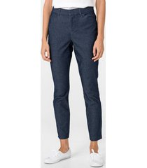 pantalón skinny ankle denim azul gap