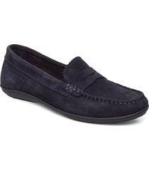 natasha 1a loafers låga skor blå marc o'polo footwear