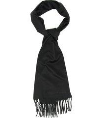 alexander mcqueen logo scarf