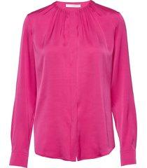 banora8 blus långärmad rosa boss