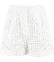 michael michael kors lace shorts