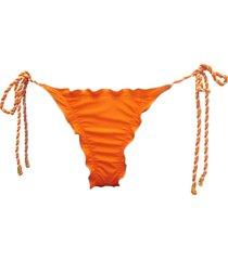 calcinha due pezzi ripple torçal laranja