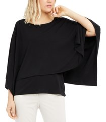 alfani draped popover top, created for macy's