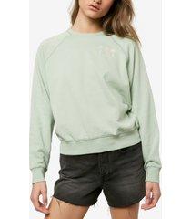 o'neill juniors' seaspray printed sweatshirt