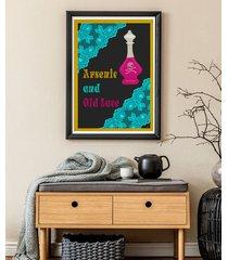 arszenik i stare koronki - plakat 50x70 cm