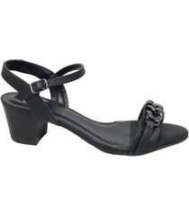 sandália demmi new tamanhos especiais feminina - feminino