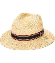 saint laurent chapéu panama - neutro