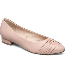 woms court shoe ballerinaskor ballerinas röd tamaris