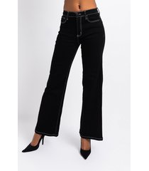 akira never letting go high waisted wide leg jeans