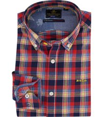 geruit overhemd multicolor new zealand barrett