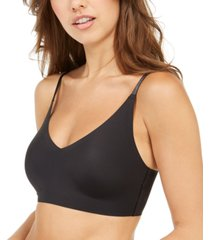 calvin klein invisibles comfort lightly lined triangle bralette qf5753