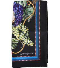 dolce & gabbana scarf with logo