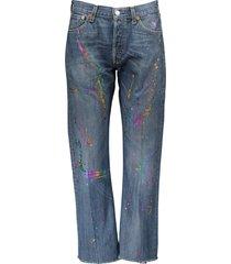 levi's vintage boyfriend holographic jeans