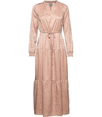 cuditta dress maxiklänning festklänning rosa culture