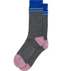 men's ted baker london stripe socks, size one size - black