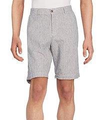 pencil striped shorts