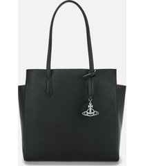 vivienne westwood women's rachel large shopper bag - black