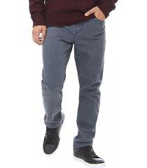 jeans slim spandex i gris - hombre corona