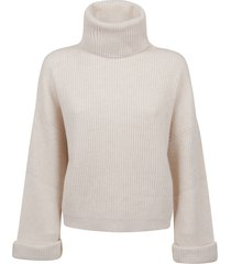 brunello cucinelli high collar sweater