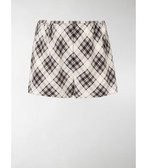 marc jacobs printed short shorts