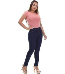 calça jeans sawary hot pants feminina - feminino