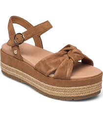 w trisha shoes summer shoes flat sandals brun ugg