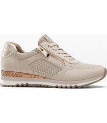 sneaker  marco tozzi (beige) - marco tozzi