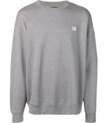 acne studios oversized sweatshirt - grey