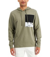 inc men's moonwalk print hoodie, created for macy's