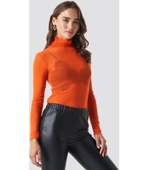 beyyoglu tulle body - orange