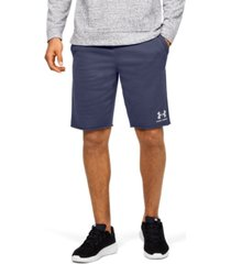 "men's ua sportstyle terry 10.5"" shorts"