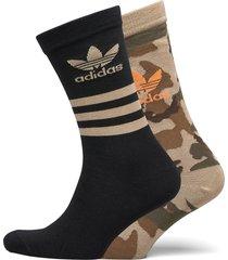 camo crew sock underwear socks regular socks svart adidas originals