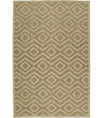"kaleen a breath of fresh air fsr01-105 khaki 3'10"" x 5'8"" area rug"