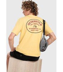 camiseta amarillo-rojo-negroquiksilver