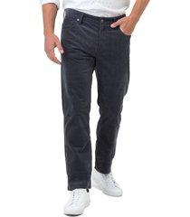 men's 7 diamonds courtland slim fit corduroy pants, size 32 x 30 - grey