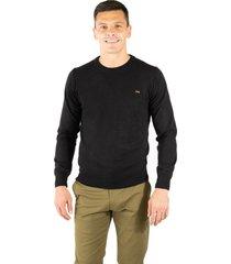 sweater negro pato pampa base liso hernando