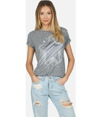 capri sparkle star - xl heather grey