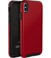 estuche protector nimbus9 cirrus 2 iphone xs max - rojo