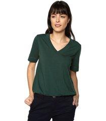 blusa verde tommy hilfiger