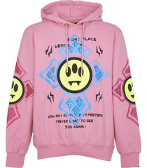 barrow pink hoodie with print