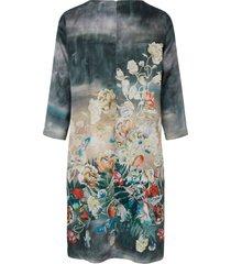 jurk met 3/4-mouwen van portray berlin turquoise