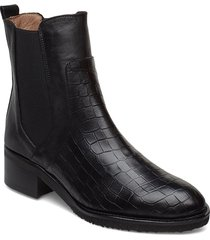 g-5201 shoes boots ankle boots ankle boots with heel svart wonders
