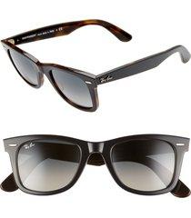 ray-ban 'classic wayfarer' 50mm sunglasses -