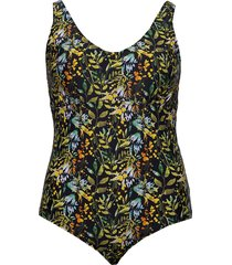 svalentina, w, swimsuit baddräkt badkläder multi/mönstrad zizzi