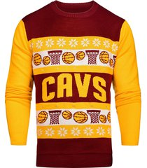 nba cleveland cavaliers light-up one too many ugly sweater