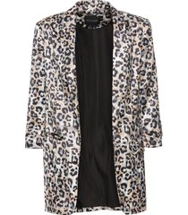 blazer in fantasia animalier (marrone) - bodyflirt