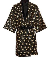 liberte noelle kimono kimonos svart becksöndergaard
