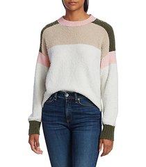 lilou colorblock sweater
