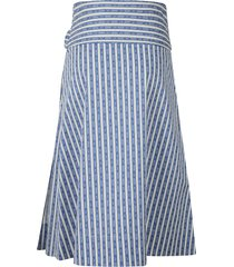 tory burch bow tie striped skirt